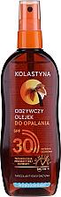 Kup Wodoodporny odżywczy olejek do opalania SPF 30 - Kolastyna