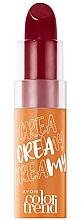 Kup PRZECENA! Kremowa szminka do ust - Avon Color Trend Cream Lipstick SPF 15*