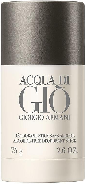 Giorgio Armani Acqua di Giò Men Deodorant Stick - Perfumowany dezodorant w sztyfcie bez alkoholu