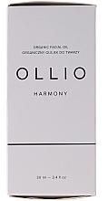 Kup PRZECENA! Przeciwstarzeniowy olejek do twarzy - Ollio Harmony Organic Facial Oil *
