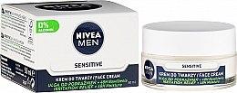 Intensywnie nawilżający krem do twarzy dla mężczyzn Ulga od podrażnień - Nivea Intensively Moisturizing Cream Men Sensitive Skin — фото N1