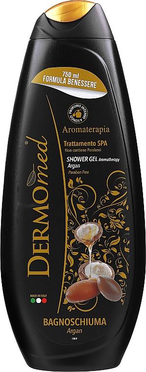 Nawilżający żel pod prysznic z olejem arganowym - Dermomed Argan Oil Shower Gel