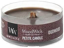 Kup Świeca zapachowa w szkle - Woodwick Petite Candle Oudwood