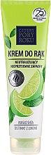 Kup Krem do rąk neutralizujący nieprzyjemne zapachy z ekstraktem z limonki - Cztery Pory Roku