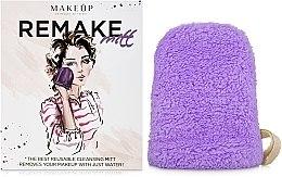 Kup Liliowa rękawiczka do demakijażu ReMake (15 x 12 cm) - Makeup