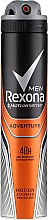 Antyperspirant w sprayu Adventure - Rexona Deodorant Spray Man — фото N3