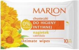 Kup Chusteczki do higieny intymnej Nagietek, 10 szt. - Marion