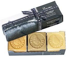 Kup Zestaw - La Corvette Provence Soap Gift Box (soap/3x100g)