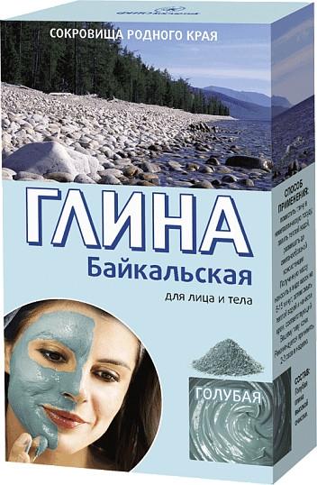 Bajkalska glinka niebieska do twarzy i ciała - FitoKosmetik