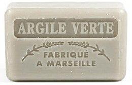Kup Marsylskie mydło w kostce z glinką zieloną - Foufour Savonnette Marseillaise Argile Verte