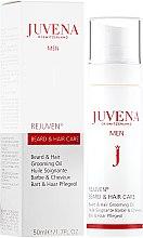 Kup Olejek do brody i włosów dla mężczyzn - Juvena Rejuven Men Beard & Hair Grooming Oil