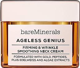 Kup Ujędrniający krem do szyi wygładzający zmarszczki - Bare Escentuals Bare Minerals Moisturizer Ageless Genius Firming & Wrinkle Smoothing Neck Cream