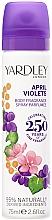 Kup Yardley April Violets - Perfumowany dezodorant w sprayu