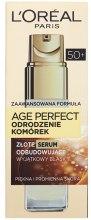 Kup Złote serum odbudowujące do twarzy 50+ Odrodzenie komórek - L'Oreal Paris Age Perfect Cell Revival Serum