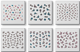 Kup Zestaw naklejek do paznokci 42942 - Top Choice Nail Decorations Stickers Set