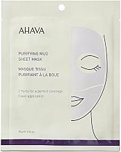 Kup Oczyszczająca maseczka w płachcie do twarzy - Ahava Purifying Mud Sheet Mask
