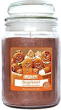 Kup Świeca zapachowa w słoiku Pierniczki - Airpure Jar Scented Candle Gingerbread
