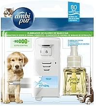Kup Zestaw odświeżacz powietrza + wkład niwelujący zapach zwierząt domowych - Ambi Pur (diffuser 1 szt. + refill 21.5 ml)