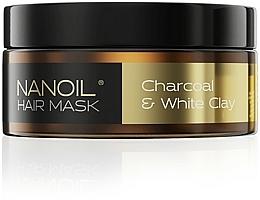 Kup Maska do włosów z węglem drzewnym i białą glinką - Nanoil Charkoal & White Clay Hair Mask