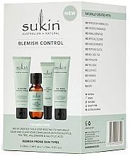 Kup Zestaw do skóry ze skłonnością do niedoskonałości - Sukin Blemish Control (gel 50 ml + toner 50 ml + gel 15 ml + cr 50 ml)