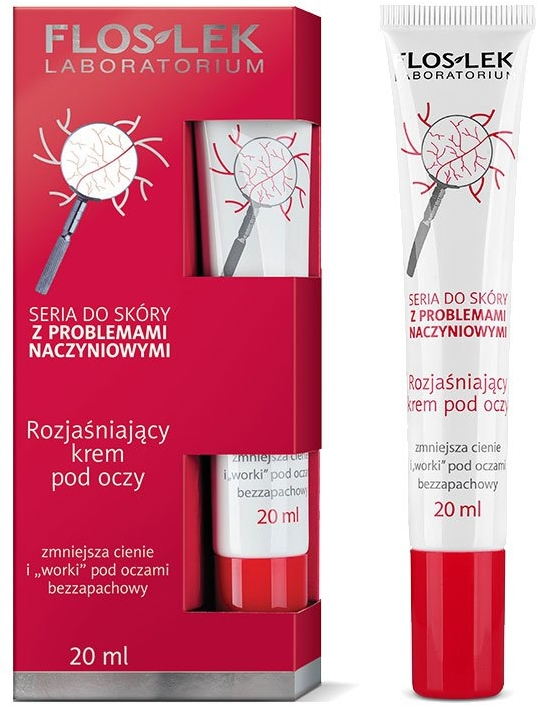 Rozjaśniający krem pod oczy - Floslek Dilated Capillaries Brightening Eye Cream — фото N1