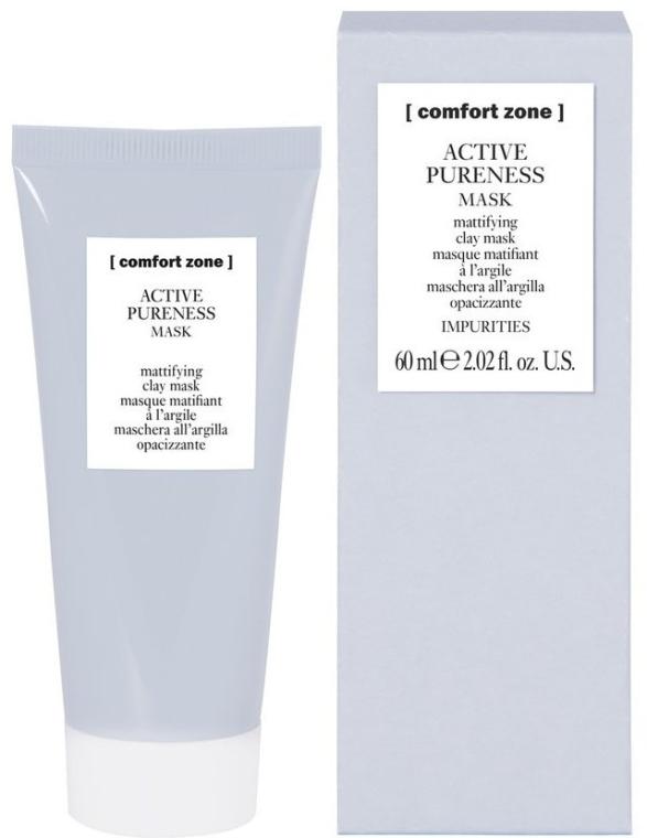 Matująca maska glinkowa do twarzy - Comfort Zone Active Pureness Mask — фото N1