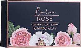Zestaw - Baylis & Harding Boudoire Rose Set (sh/gel/130ml + sh/gel/300ml + lot/130ml + crystals/100g + bath/f/300ml + soap/100g) — фото N8