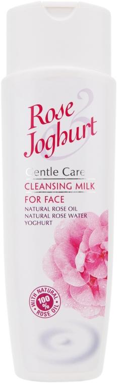 Delikatne mleczko do demakijażu twarzy i oczu Róża i Jogurt - Bulgarian Rose Rose & Joghurt Cleansing Face Milk — фото N1