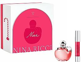 Kup Nina Ricci Nina - Zestaw (edt/50ml + lipstick/2.5g)