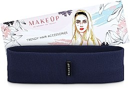 Kup Opaska na głowę Be Beauty, granatowa (20 x 6 cm) - Makeup