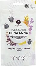 Kup Naturalne tabletki pod prysznic - Ben & Anna Natural Velvet Body Wash Tablets