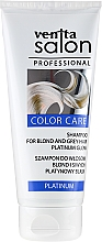 Kup Rozświetlający szampon do włosów blond i siwych - Venita Salon
