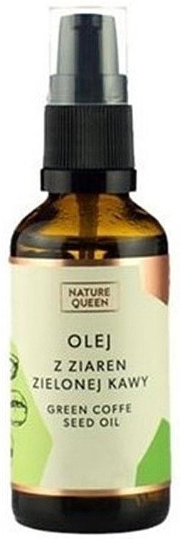 Olej z ziaren zielonej kawy - Nature Queen Green Coffe Sead Oil — фото N1