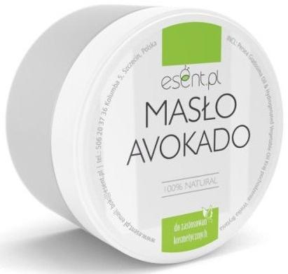 Naturalne masło awokado 100% - Esent — фото N1