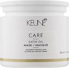 Kup Maska do włosów matowych - Keune Care Satin Oil Mask