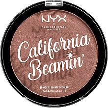 Kup Bronzer do twarzy i ciała - NYX Professional Makeup California Beamin' Face & Body Bronzer