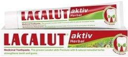 Kup Ziołowa pasta do zębów - Lacalut Aktiv Herbal Toothpaste