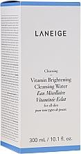 Kup Woda micelarna z witaminami do wszystkich rodzajów skóry - Laneige Vitamin Brightening Cleansing Water