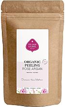 Kup PRZECENA! Wygładzający peeling organiczny do ciała, Róża i Argan - Eliah Sahil Peeling Organic Rose Argan (wymienny wkład) *