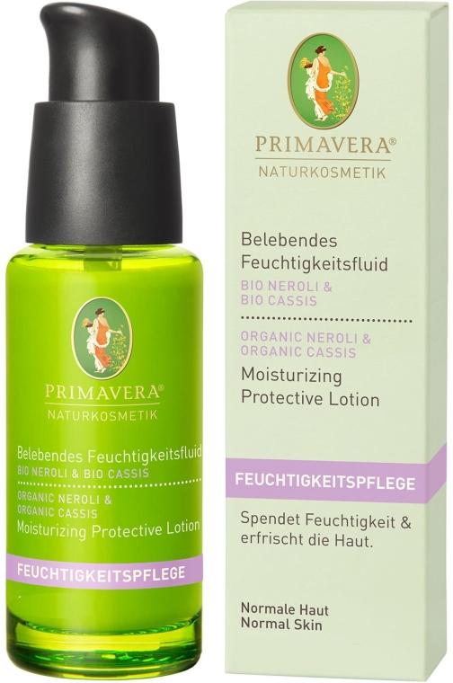 Nawilżający balsam ochronny do twarzy Neroli i czarna porzeczka - Primavera Neroli & Cassis Moisturizing Protective Lotion — фото N1