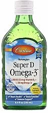 Kup Norweski olej rybny z witaminą D - Carlson Labs Norwegian Super D Omega-3