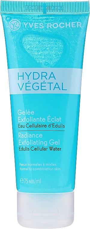 Rozświetlający peeling do twarzy - Yves Rocher Hydra Vegetal Radiance Exfoliating Gel — фото N1