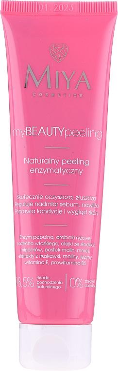 Naturalny peeling enzymatyczny do twarzy - Miya Cosmetics My Beauty Peeling