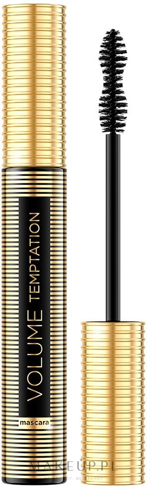 Pogrubiający tusz do rzęs - Eveline Cosmetics Volume Temptation — фото Black