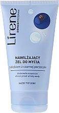 Kup Nawilżający żel do mycia twarzy z olejem z czarnej porzeczki - Lirene Dermoprogram