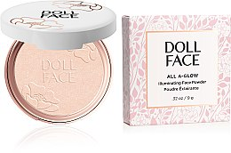 Kup Rozświetlający puder do twarzy - Doll Face All A Glow Illuminating Powder
