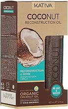 Kup Rewitalizujący olejek do włosów - Kativa Coconut Reconstruction Oil