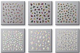 Kup Zestaw naklejek do paznokci 42737 - Top Choice Nail Decorations Stickers Set