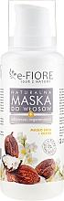 Kup Odżywczo-regenerująca naturalna maska do włosów Masło shea i olejki - E-Fiore