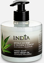 Kup Mydło do rąk z olejem z konopi - India Liquide Hand Soap